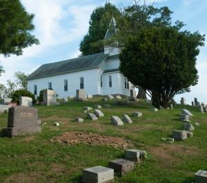 Sherrard, W.Va.:  Allen Grove Presbyterian Church 7/31/12