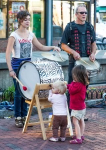 Somerville, Mass.:  Davis Square street band 9/16/12