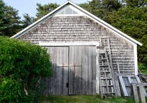 Chappaquiddick Island, MA:  Shed 6/22/13