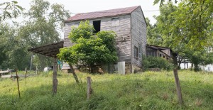 Barnesville, Ohio:  Abandoned farmhouse 8/21/13