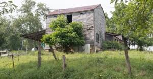 Barnesville, Ohio:  Abandoned farmhouse 8/21/13