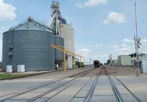 Litchfield, MN:  Grain Elevator  6/24/12