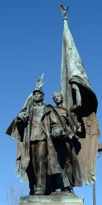 Somerville, MA:  Union Soldiers Memorial 11/18/13