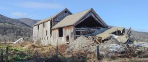 Pownal, VT:  Abandoned Barn 11/25/13