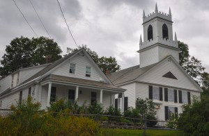 Weston, VT:  Before a summer storm 9/5/11