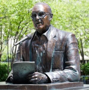 Chicago:  Jack Brickhouse, Baseball Hall of Fame Announcer 5/20/13