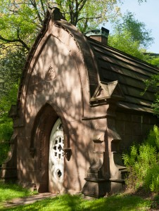 Cambridge, MA:  Mt. Auburn Cemetery, Lodge Mausoleum  5/7/12