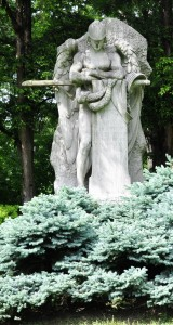 Cleveland, Ohio:  Lake View Cemetery, John Hay Memorial 5/22/10