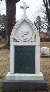 Cambridge, MA:  Margaret Fuller monument, Mt. Auburn Cemetery  3/30/14