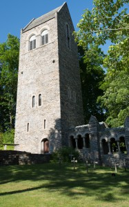 Kent, CT:  Kent School Bell Tower & Grave Yard  6/7/14
