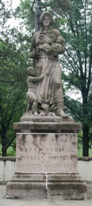 Wheeling, W.Va.:  'Madonna of the Trail' (ca. 1928), National Road East 8/5/12