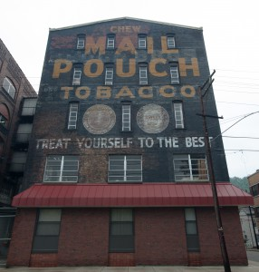 Wheeling, W.Va.:  Mail Pouch Chewing /Tobacco Factory 8/5/12