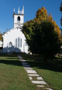 E. Dorset, VT:  East Dorset Congregational Church 10/3/14