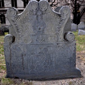 Boston, MA:  King's Chapel Burying Ground  3/24/11
