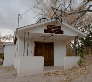 Rio Chiquito, NM:  Catholic Church  11/14/14