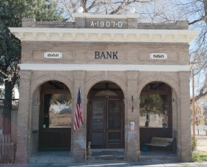 Elizabeth, CO:  Repurposed bank 11/8/14
