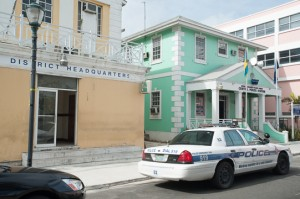 Nassau, Bahamas:  Royal Bahamas Police Force, Central Police Station  12/29/12