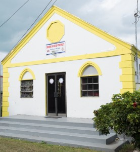 Harbour Island, Bahamas:  Church of God of Prophecy 1/8/15
