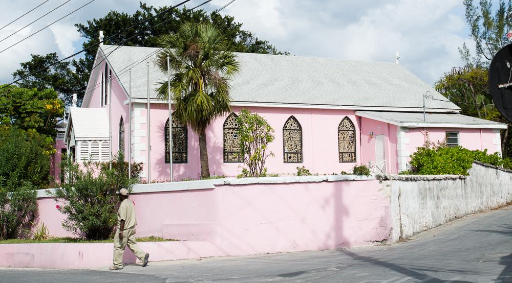 Harbour Island, Bahamas:  St. John's Anglican Church 1/8/15