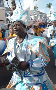 Nassau, BS:  Junkanoo, cow bells  12/26/14