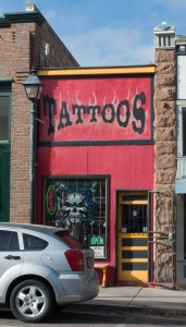 Las Vegas, NM:  'Razor's Tattoos'  11/12/14