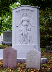 Cambridge, MA:  Mt. Auburn Cemetery Lockwood Family Memorial 10/13/14