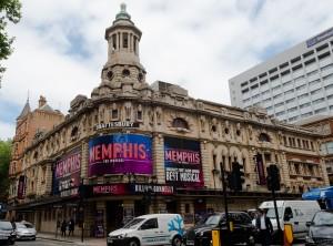 London, England:  Shaftesbury Theatre  7/16/15